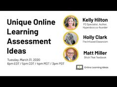 Unique Online Learning Assessment Ideas - YouTube