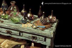 Pixie Dust Miniatures: The Potion Table
