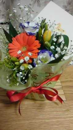 Flower arrangement for 2014 ♪