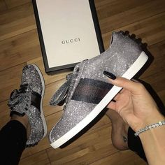 Search results for Gucci Shoes::allCategories:Womens on Matches Fashion Site US Gucci Sneakers Outfit, Girls Sneakers, Leather Sneakers, Sock Shoes, Shoes Heels, Bling Heels, Bling Bling, Chanel, Swagg