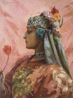 "loumargi: "" 1892(Georges-Antoine Rochegrosse), 1859-1938 """