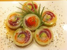 Naruto Roll!  The best sushi roll ever!