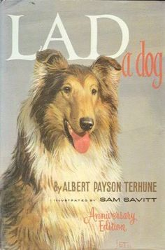 'Lad a Dog' Collie book.