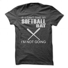 SOFTBALL BAT - #polo shirt #vintage t shirts. BUY NOW => https://www.sunfrog.com/Funny/SOFTBALL-BAT-DarkGrey-Guys.html?60505