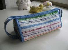 Sew Together Bag using selvages!