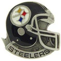 """NFL Pittsburgh Steelers Helmet Pin 1"""" by FindingKing. $10.88. This is a new NFL Pittsburgh Steelers Helmet Pin 1"""""""