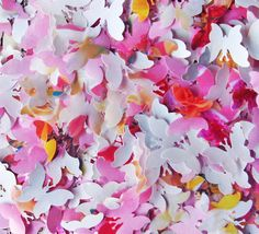 Confetti paper party wedding decor butterfly by GoodGoodyGoods