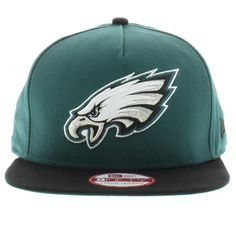 Philadelphia Eagles Team Colors The Team Flip 2 SNAPBACK 950 9fifty New Era  New Era Caps f8cb8c606a0f