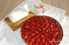 TARTA Z TRUSKAWKAMI I KREMEM BUDYNIOWYM Strawberry tart #strawberrytart #strawberries #truskawki