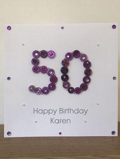 Personalised Handmade Star 70th Birthday Card