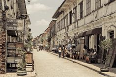 Colonial Architecture (Philippines). 'The Philippines isn't just about beaches and adventure; the Spanish left some wonderful architecture that combines native and European elements. The historical centres of cobblestoned Vigan in North Luzon and Silay on Negros have many well-preserved ancestral houses; many mansions in these towns have been turned into lovely hotels and restaurants.