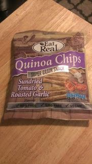 Banshee's Breakfast: Review - Eat Real Quinoa Chips