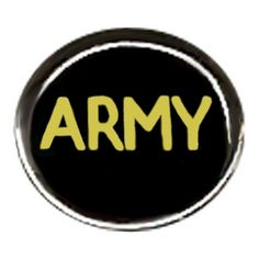 $42.99 Hand painted Army  - on two sides bead