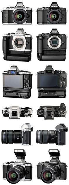new hybrid camera olympus om-d
