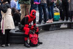 Pillowfight Day, Washington Square Park 2016