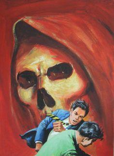 Mexican Pulp Art Vintage 60's 70's Gouache by CremeDeLaCrap, $175.00