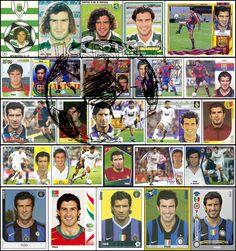 Luis Figo  career in stickers Panini Colecciones Este Sporting Barcelona Real Inter Portugal