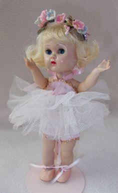 "Vogue Ginny Walker  Pink ""Fun Time"" Ballerina #6045 from 1956"