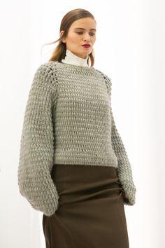 fashion:knits - madamebarry: | Issever Bahri | autumn winter...