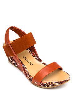 UNLISTED Celestia Wedge Sandals #onlineshop #onlineshopping #lazadaphilippines #lazada #zaloraphilippines #zalora
