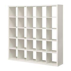 IKEA - KALLAX, Shelving unit, white,