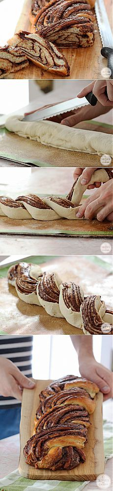 inspiredbycharm.com Food And Drink, Nutella Bread, Baking, Ethnic Recipes, Bakken, Bread, Backen, Reposteria