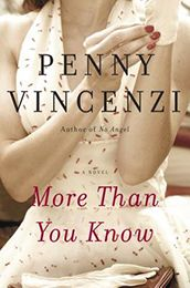 More Than You Know by Penny Vincenzi (April 2012)... It all comes down to love or money in a harrowing custody battle over a little girl, set against the glossy backdrop of the magazine and advertising worlds in 1960s London.    A privileged girl from a privileged class, Eliza has a dazzling career in the magazine world of the 1960s. But when she falls deeply in love with Matt, an edgy working-class boy, she gives up her ritzy, fast-paced lifestyle to get married.