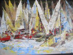 'sail ' acrylic