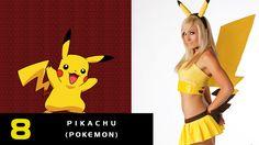 8- Pikachu de Pokemon