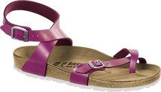 Birkenstock Yara Sandals With Toe Loop Original Latex Footbed Cork Board–Graceful birko flor 10Upper in Kräfigen Colours Fleece Lining - Purple -: Amazon.de: Schuhe & Handtaschen