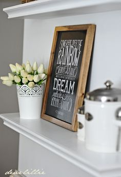 A Wall in Our Kitchen by Dear Lillie