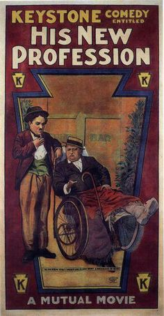 HIS NEW PROFESSION // usa // Charles Chaplin 1914