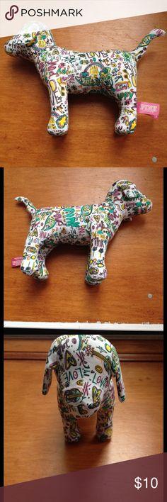 PINK graffiti dog Excellent condition PINK graffiti dog PINK Victoria's Secret Other