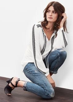 """Whether you're curvy, petite, have short or long legs—or even if you're just plain """"regular""""—our WHBM jeans will fit you. Guaranteed. The secret's in the stretch.   White House Black Market"""