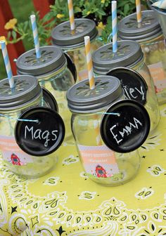 Scrumptious Swirls: Down on the Farm Personalized Kids Cups DIY idea