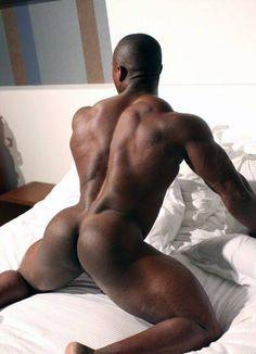 Naakte zwarte man Sex