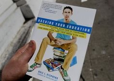 """Stephens' book """"Hacking Your Education"""" says people can save time and money by avoiding college. Photo: Brant Ward, The Chronicle"""