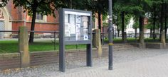 Schaukasten Sendenhorst Kirchstraße, Sendenhorst, Infosysteme, Schaukästen, Beschilderungen, Stadtmobiliar, information systems, street furniture