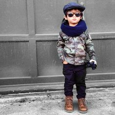 Yea...I know I'm cool. #kidsfashion