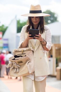 Street Style Milan Fashion Week hippie kapelusz i męska elegancja