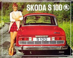 Vintage Advertisement: Skoda - My old classic car collection Old Advertisements, Car Advertising, Automobile, Old Classic Cars, Classic Auto, Car Posters, Retro Posters, Travel Posters, Old Cars