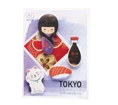Image of Tokyo Travels Sticky Note Set