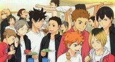 I freaking love this picture i love how Nishinoya is