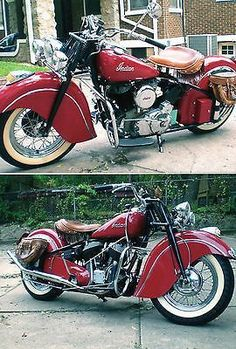 This is often particularly true with regards to about Vintage Motorcycles. Ride one around the corner and all brain transform, nodding in sanction. Indian Motorbike, Vintage Indian Motorcycles, Antique Motorcycles, Custom Motorcycles, Custom Bikes, Scooters, Vw Vintage, Vintage Bikes, Harley Davidson