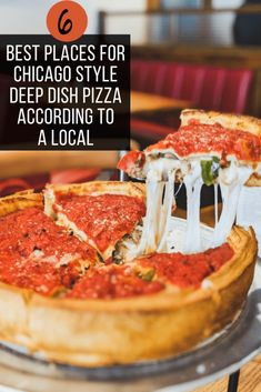 Chicago Deep Dish Pizza: Where to Get the Best Pie Best Pie, Deep Dish, Best Street Food, Best Places To Eat, Foodie Travel, Travel Usa, Travel Guides, Travel Tips, Traveling By Yourself