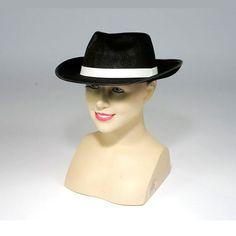 Sombrero de Gánster #sombrerosdisfraz #accesoriosdisfraz #accesoriosphotocall