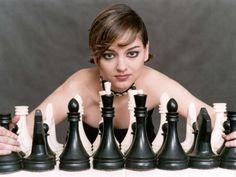 Alexandra Kosteniuk, beautiful chess Grand Master