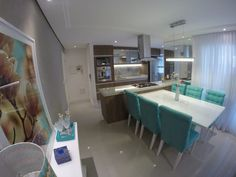Busca imágenes de diseños de Cocinas estilo moderno de Padoveze Interiores. Encuentra las mejores fotos para inspirarte y crear el hogar de tus sueños.