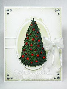 Christmas card made with OCL Ole St. Nick