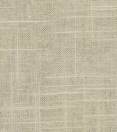Upholstery Fabric-Robert Allen Linen Slub-Twine